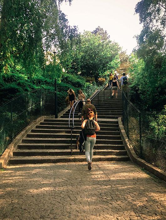 13eme arrondissement butte aux cailles Paris Sentier de grande randonnée