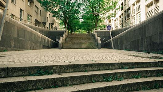 19ème arrondissement ruelle Paris Sentier de grande randonnée