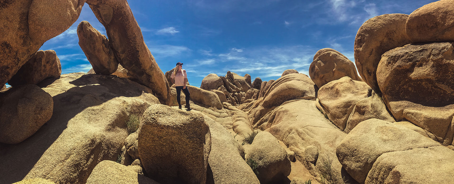 Joshua Tree National Park California Road Trip USA arch rock