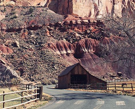 Capitol Reef National Park Utah USA Road trip Fruita