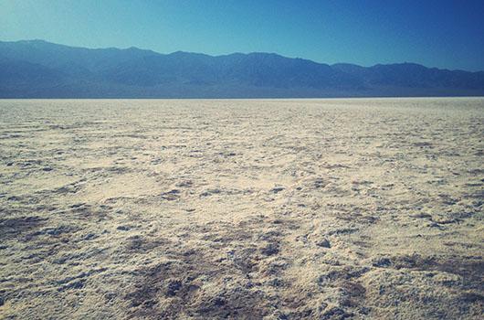 Badwater Basin Vallée de la mort Californie Death Valley National Park