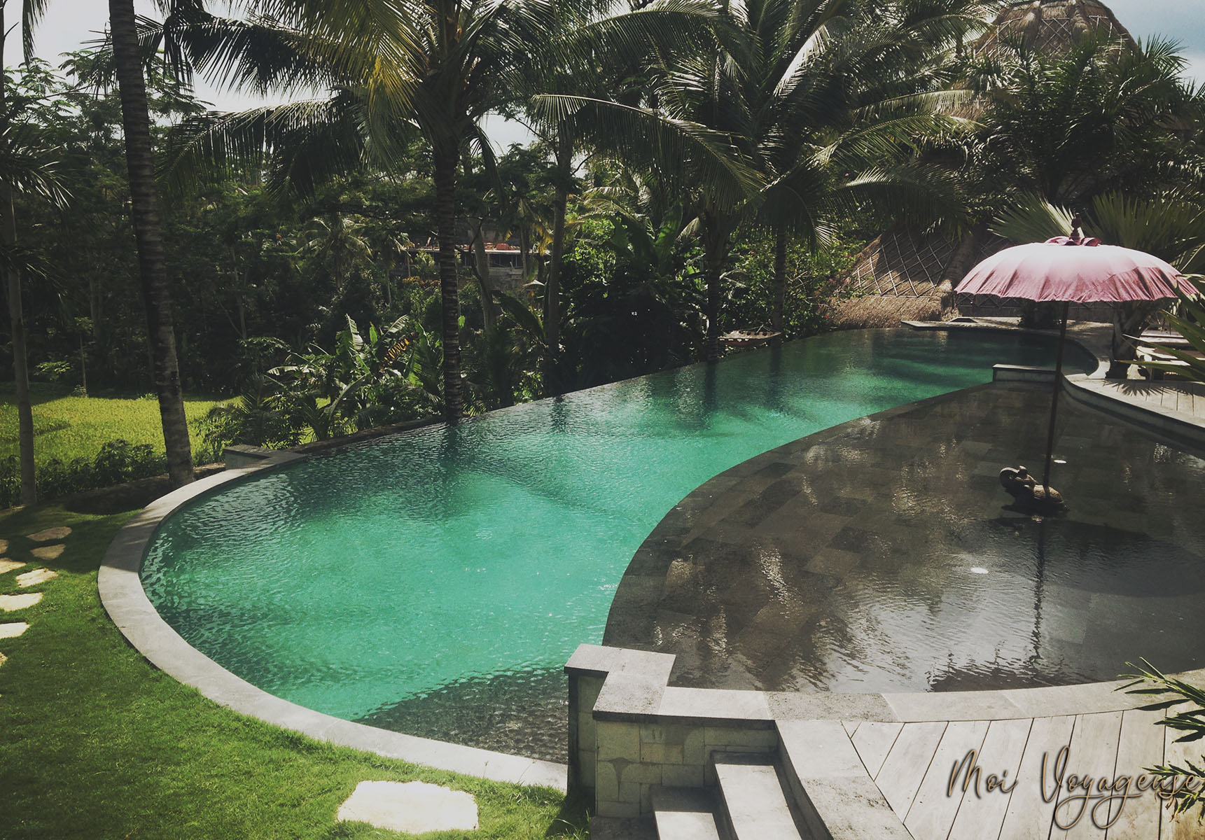 Blue Karma Resort Ubud Bali Swimming pool hotel honeymoon