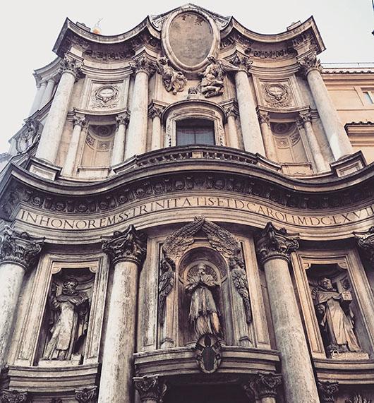 Carrefour Quatre Fontaines Rome Italie