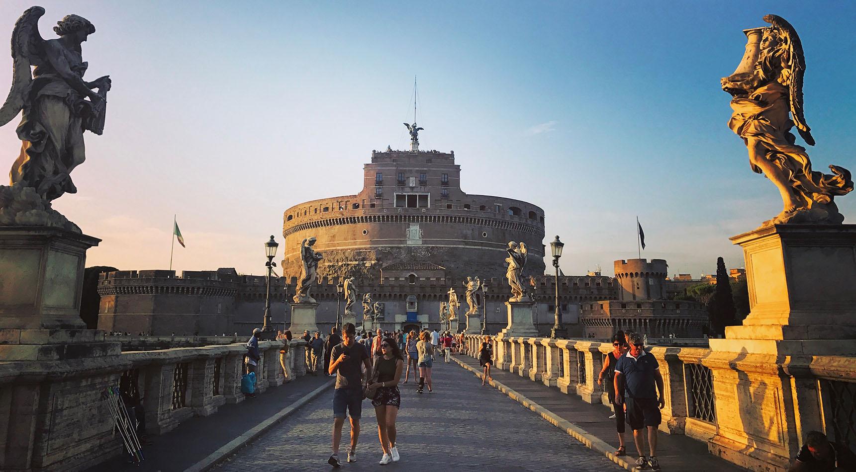 Castel San Angelo Rome Italie