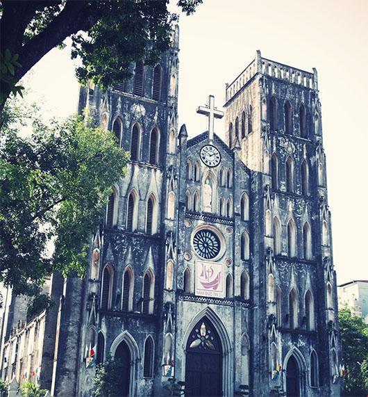 Cathedrale Saint Joseph Hanoi Vietnam