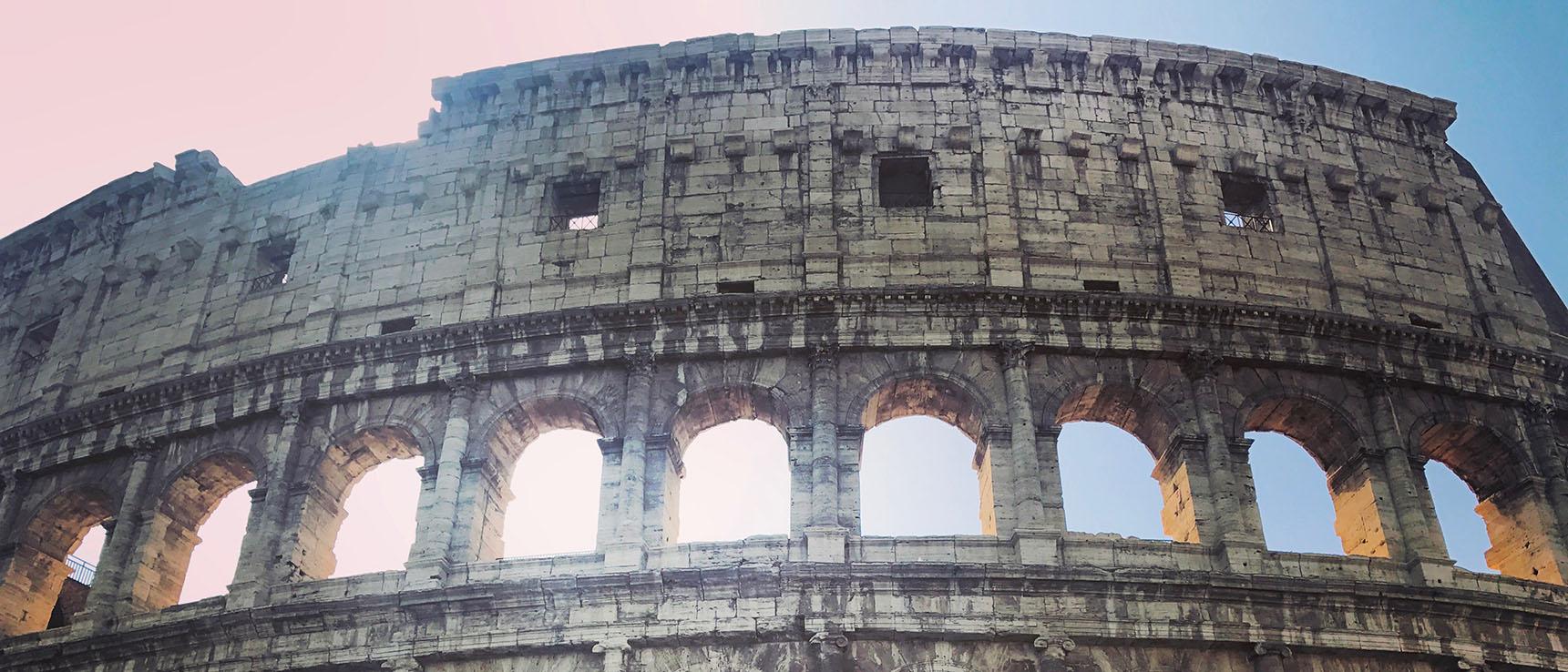Colisée exterieur rome italie