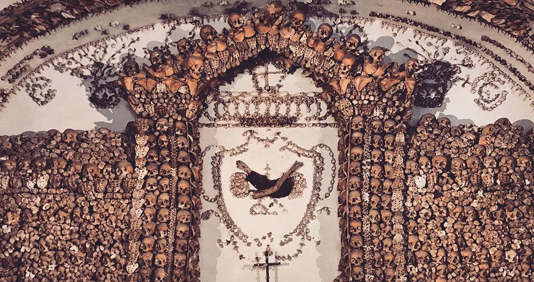 Crypte Eglise Frères moines capucin rome italie
