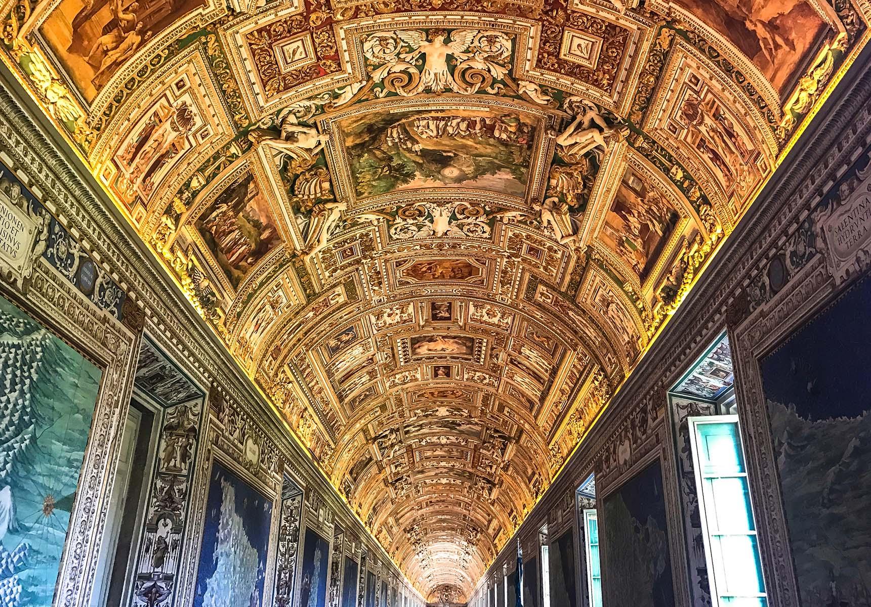 Galerie musées du vatican rome italie