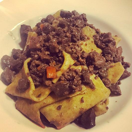 Gastronomie italie toscane restaurant conseil pappardelle sanglier