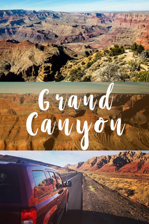 Grand Canyon National Park Arizona USA Road trip