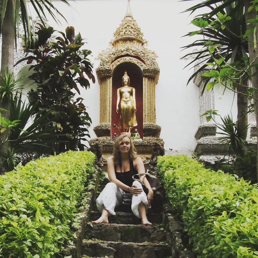 Heloise moi voyageuse doi suthep chiang mai temple thailande