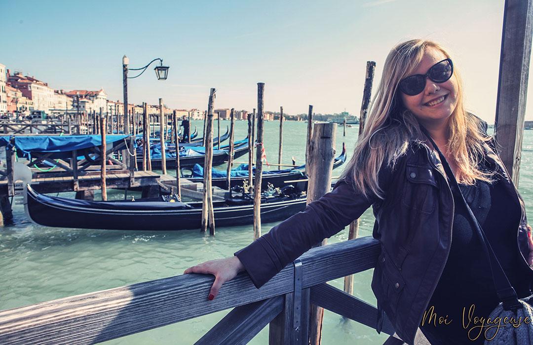 Heloise Moi Voyageuse Venise Gondoles