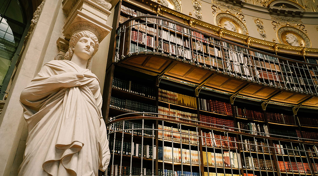 Bibliothèque Richelieu BNF Paris Salle Labrouste