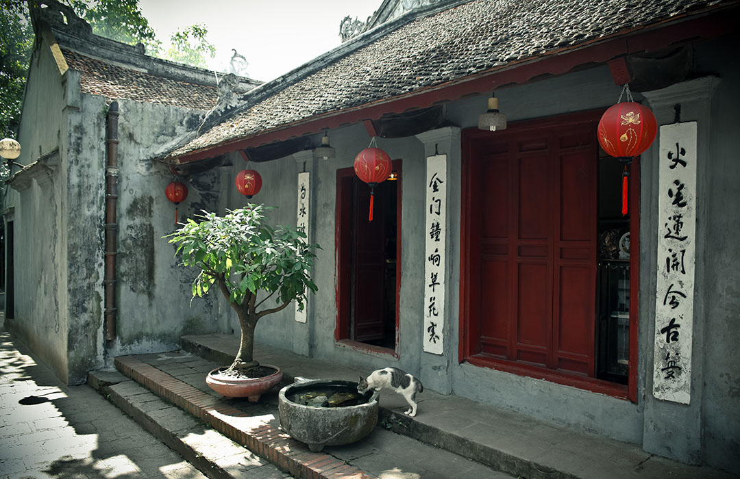 Lac Hoan Kiem vietnam hanoi temple de jade