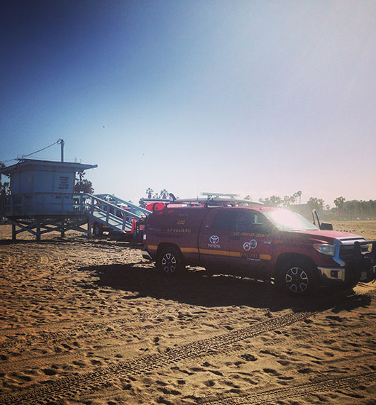Lifeguard venice beach los angeles california