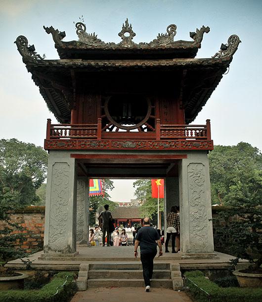 Temple de la littérature vietnam hanoi