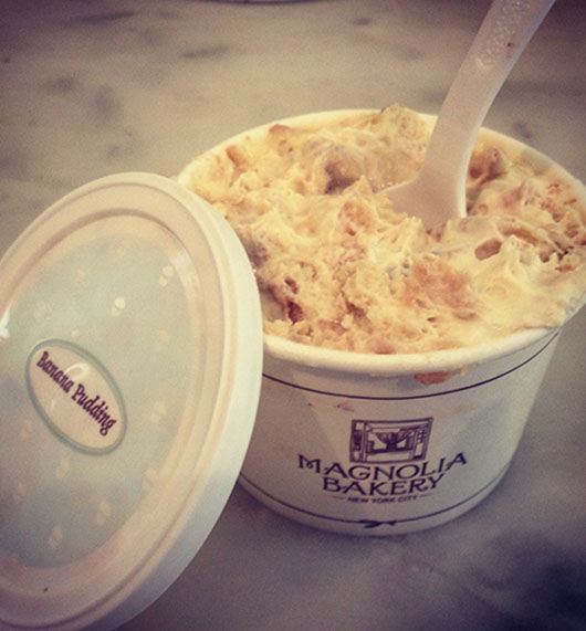 Magnolia Bakery Banana Pudding Dessert Food New York