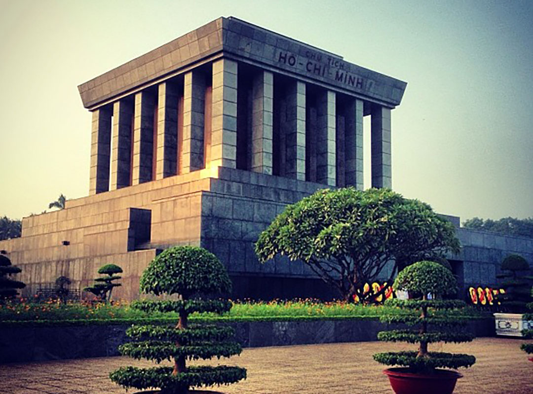 Mausolée Ho Chi Minh Hanoi Vietnam