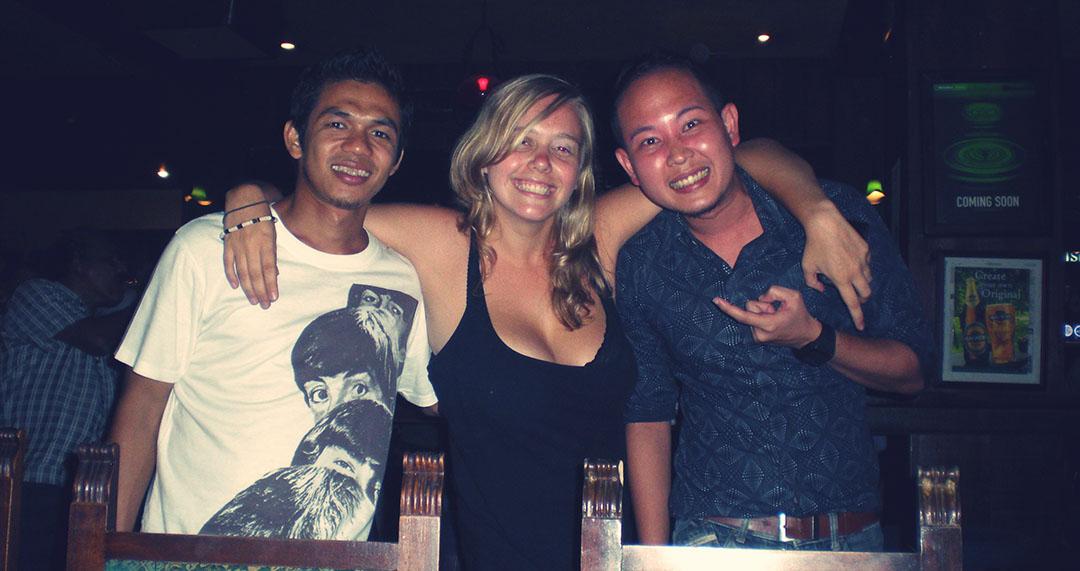 Moi voyageuse amis thailandais bangkok thailande