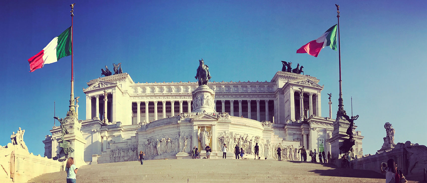 MOnument victor emmanuel 2 rome italie