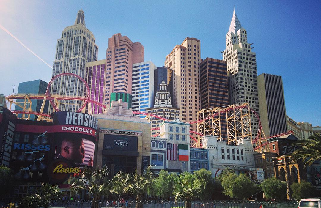 New York Casino Hotel Las Vegas Nevada Strip