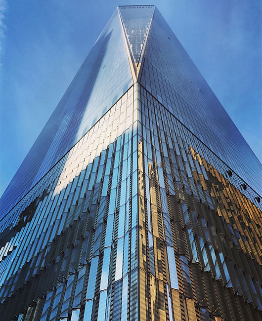 One World Trade Center building financial district architecture new york
