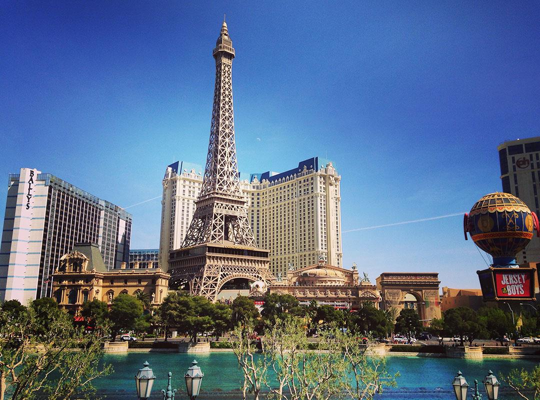 Paris Las Vegas Eiffel Tower Nevada Strip