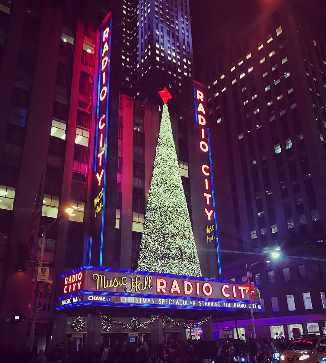 Radio City Music Hall New York Christmas Rockettes Musical Spectacle Nuit Night