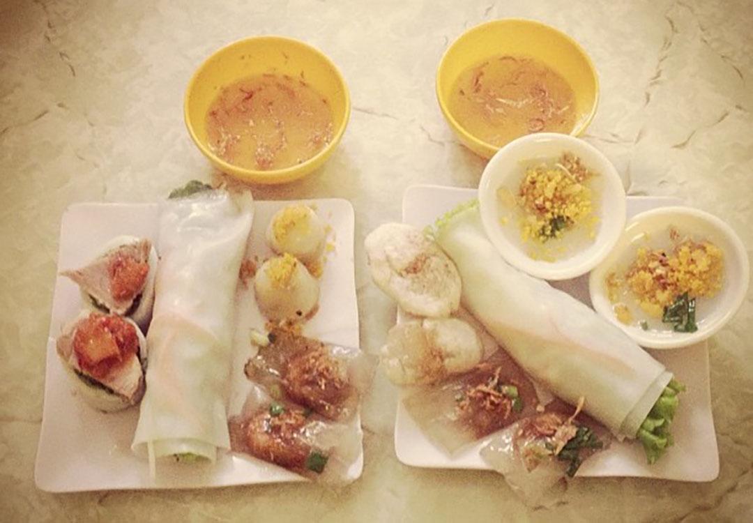 Repas cuisine vietnamienne hanoi
