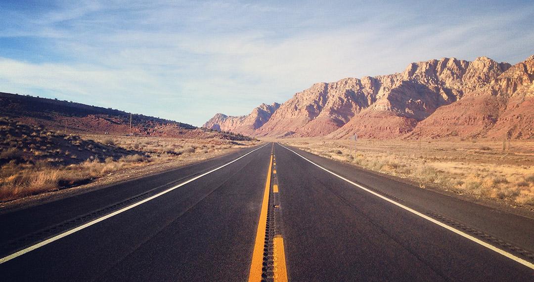 Road trip arizona usa roads