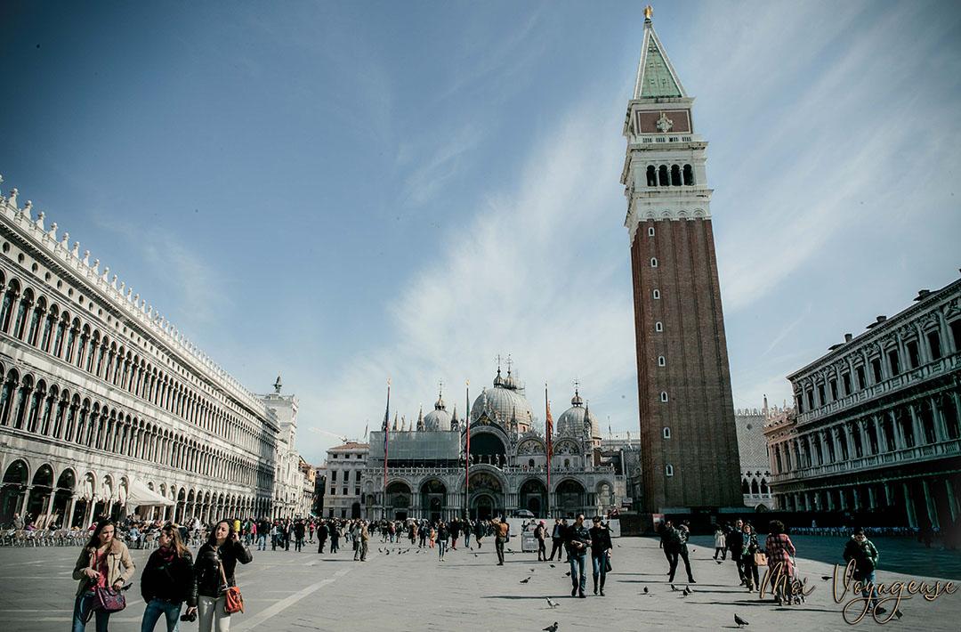 Place Saint Marc Venise Italie Europe