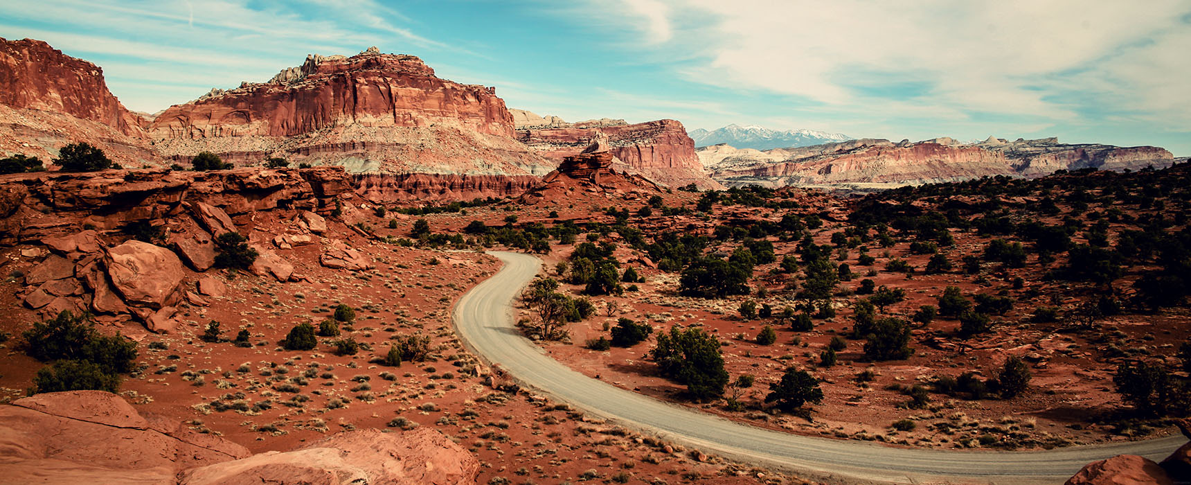 Capitol Reef National Park Utah USA Road trip Fruita Scenic Drive