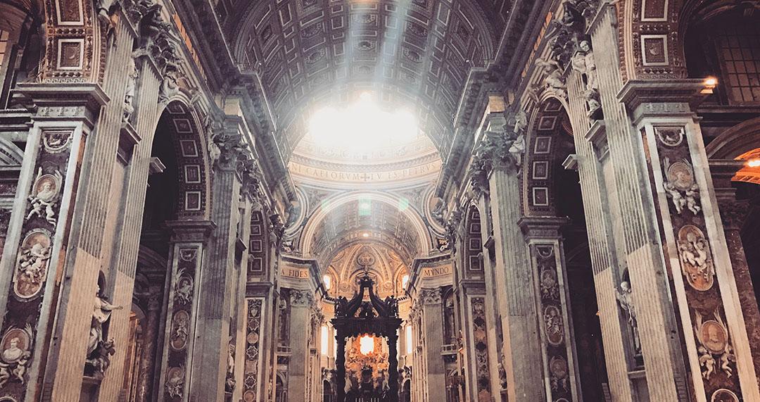 Vatican Basilique saint pierre interieur