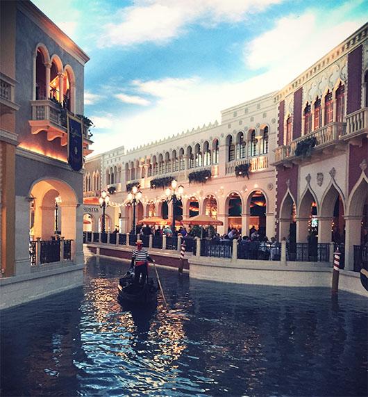 Venetian Casino Hotel Las Vegas Nevada Strip gondole